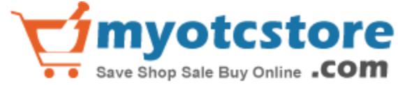 logotipo de myotcstore.com para que los usuarios hagan clic para encontrar dentista natural a base de aloe encías saludables productos antiplaca para encías sangrantes