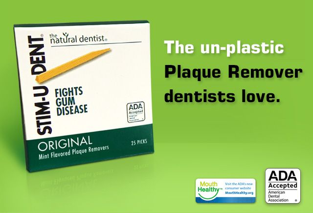 Stim-U-Dent Plaque Removers | Best Floss Alternatives Products |