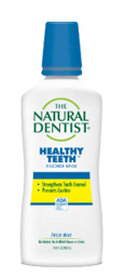 a picture of the natural dentist healthy teeth flouride anticavity mouthwash that prevents cavities strengthens tooth enamel and treats tooth sensitivity