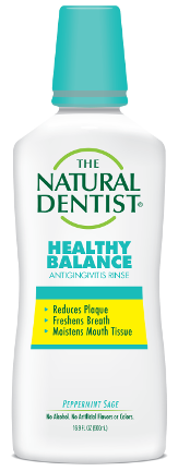 The Natural Dentist Healthy Balance All-Purpose Rinse