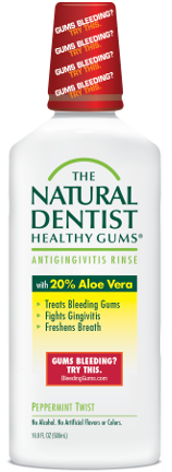stop bleeding gums mouthrinse