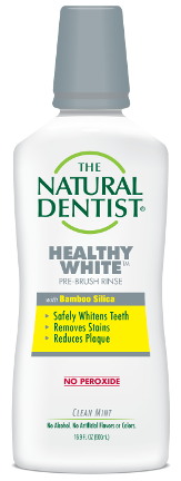 The Natural Dentist Healthy White Pre-Brush Rinse
