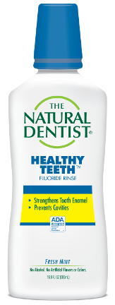 The Natural Dentist Healthy Teeth Fluoride Rinse