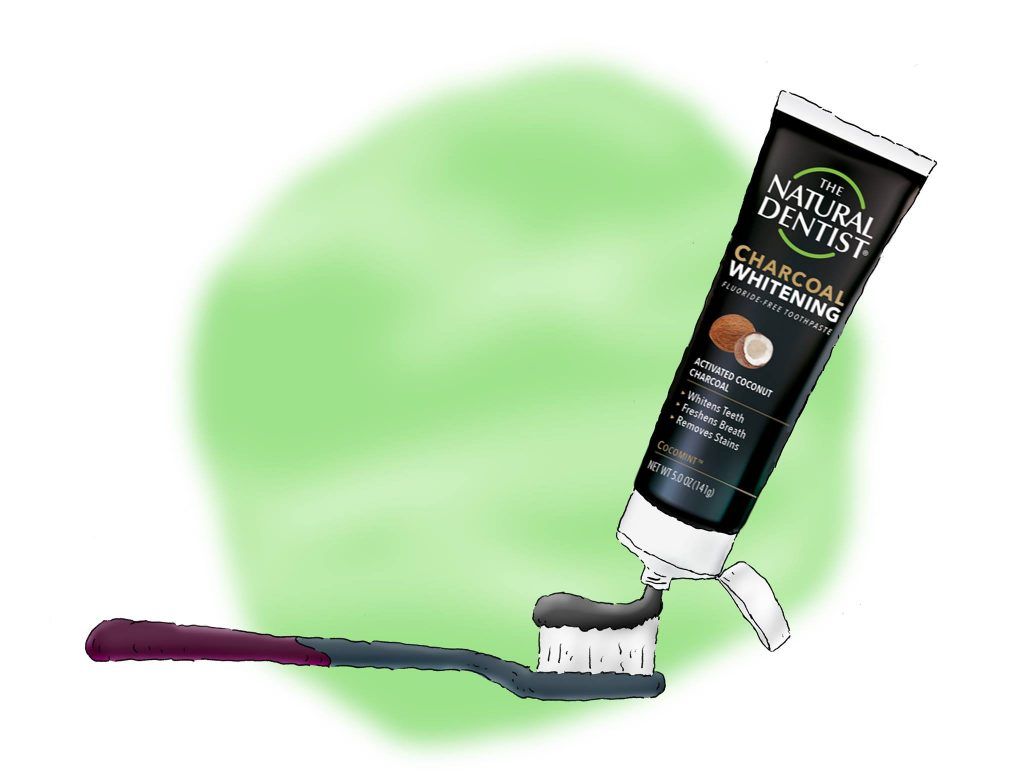 Safe Charcoal Toothpaste